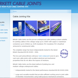 Birkett Cable Joints
